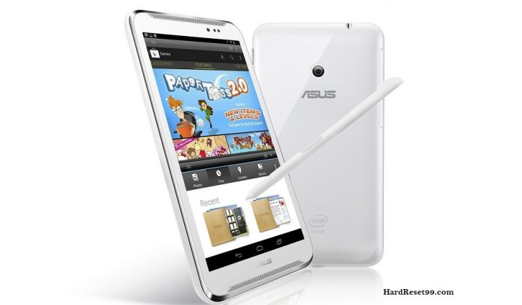 Asus Fonepad Note FHD6 Hard reset, Factory Reset and Password Recovery