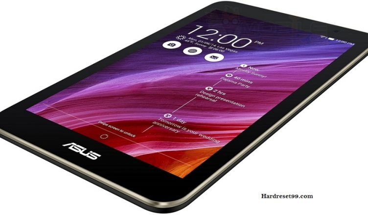 Asus MeMO Pad 7 Hard reset, Factory Reset and Password Recovery