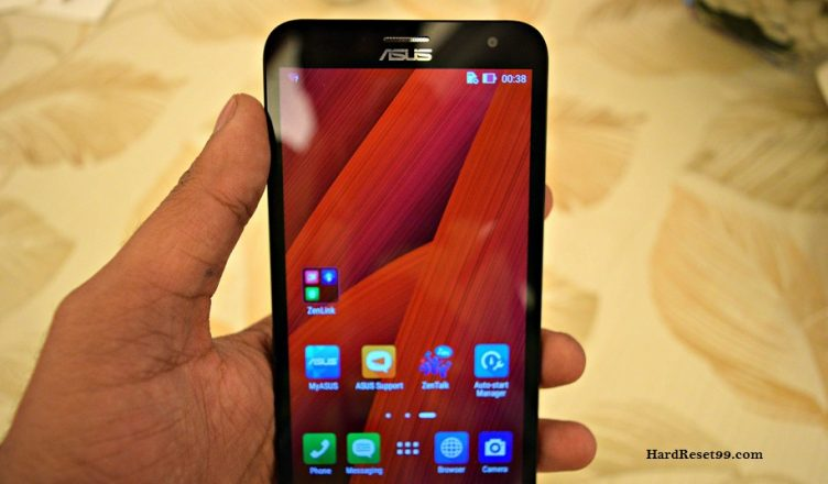 Asus ZenFone 2 Laser 5.0 3G Hard reset, Factory Reset and Password Recovery