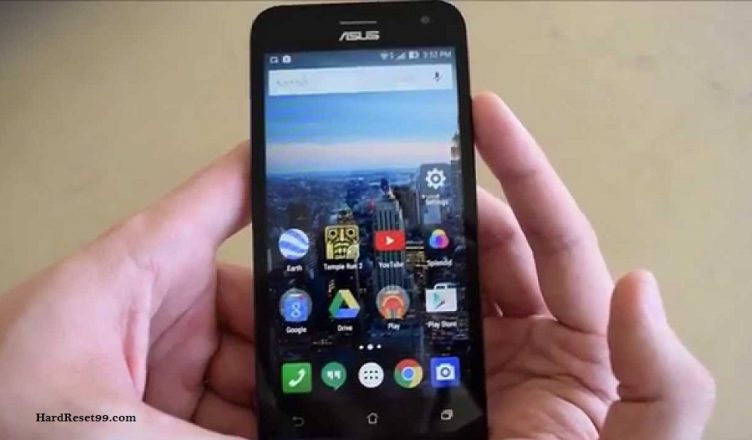 Asus ZenFone 2E Hard reset, Factory Reset and Password Recovery