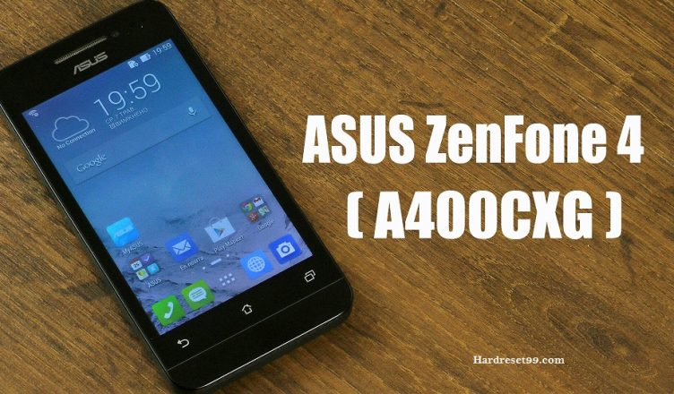 Asus ZenFone 4 A400CXG Hard reset, Factory Reset and Password Recovery