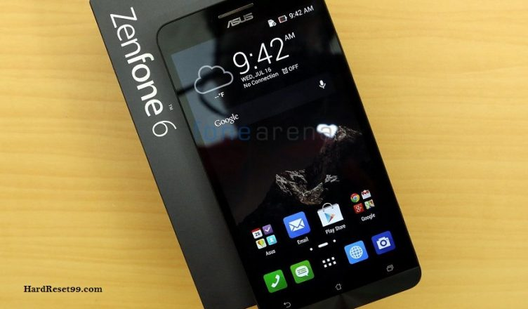 Asus ZenFone 6 A601CG Hard reset, Factory Reset and Password Recovery