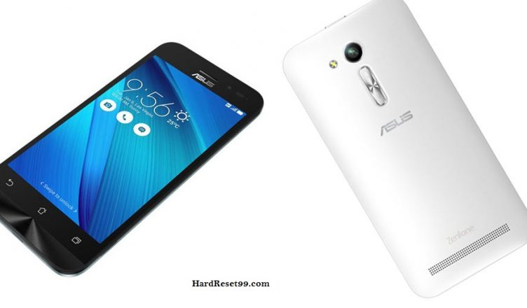Asus ZenFone Go 4.5 Hard reset, Factory Reset and Password Recovery