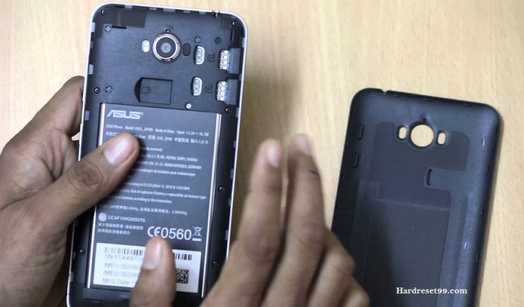 Asus ZenFone Max ZC550KL Hard reset, Factory Reset and Password Recovery