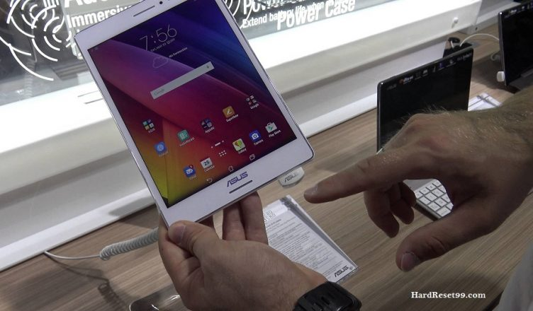 Asus ZenPad S 8.0 Z580CA Hard reset, Factory Reset and Password Recovery