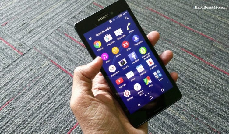 Sony Xperia M4 Aqua Dual Hard reset, Factory Reset and Password Recovery