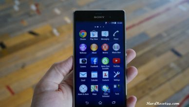 Sony Xperia Z3 Hard reset, Factory Reset and Password Recovery
