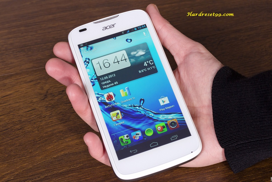 Acer Liquid Express E320 Hard reset, Factory Reset and Password Recovery