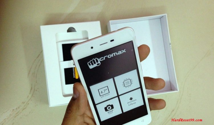 Micromax Bolt Q338 Hard reset, Factory Reset and Password Recovery