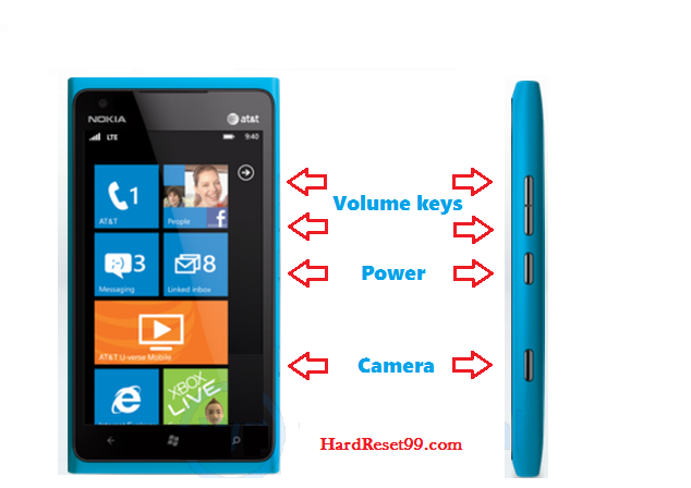 Nokia hard reset with buttons