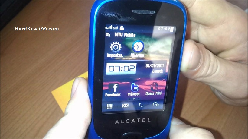 Alcatel Duet App Hard reset, Factory Reset and Password Recovery