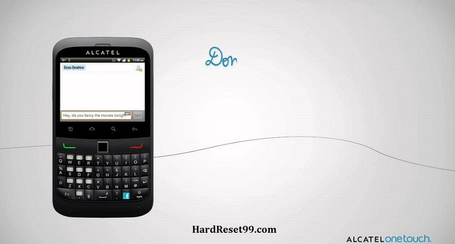 Alcatel OT 916 Hard reset, Factory Reset and Password Recovery