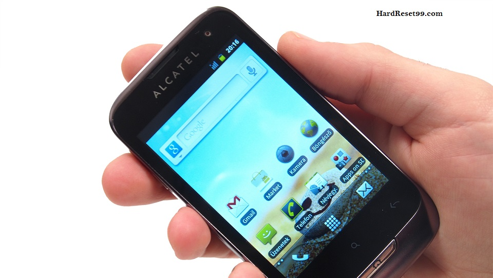 Alcatel OT 985 Hard reset, Factory Reset and Password Recovery