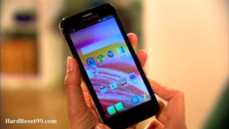Alcatel One Touch Fierce Hard reset, Factory Reset and Password Recovery