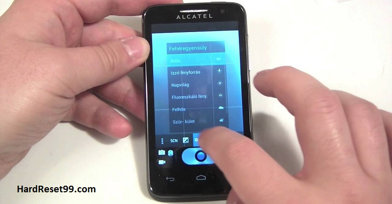 Alcatel One Touch M'Pop Hard reset, Factory Reset and Password Recovery