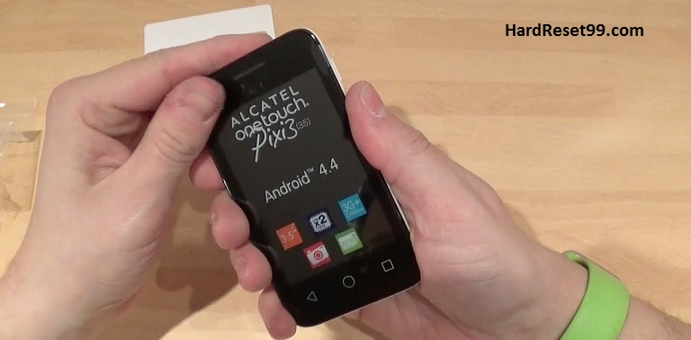 Alcatel One Touch Pixi 3 4009A Hard reset, Factory Reset and Password Recovery