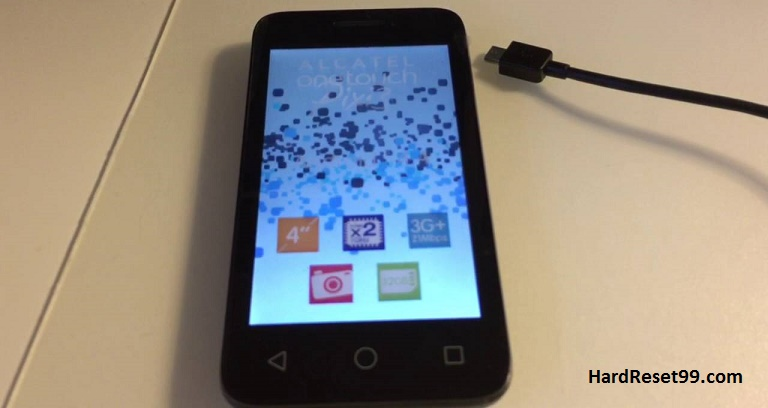 Alcatel One Touch Pixi 3 4050D Hard reset, Factory Reset and Password Recovery