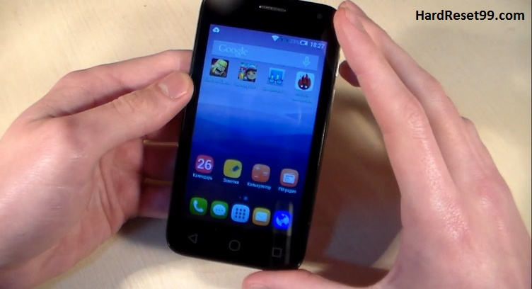 Alcatel One Touch Pixi First Hard reset, Factory Reset and Password Recovery