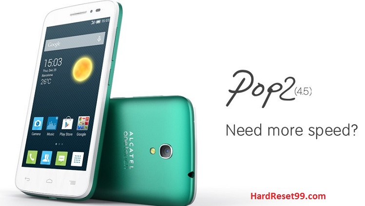 Alcatel One Touch Pop 2 4.5 Hard reset, Factory Reset and Password Recovery