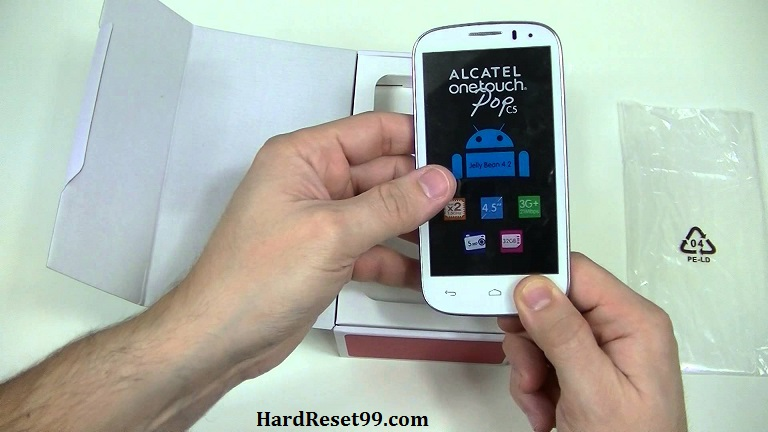 Alcatel One Touch Pop C5 Hard reset, Factory Reset and Password Recovery