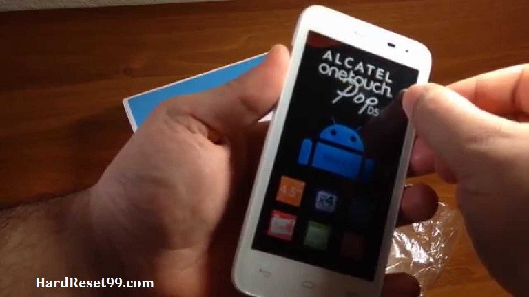 Alcatel One Touch Pop D5 Hard reset, Factory Reset and Password Recovery