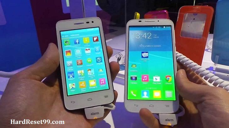 Alcatel One Touch Pop S7 Hard reset, Factory Reset and Password Recovery