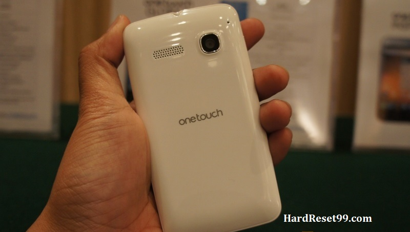 Alcatel One Touch S'Pop Dual Hard reset, Factory Reset and Password Recovery
