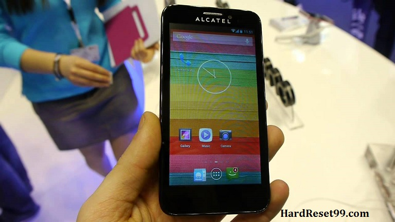 Alcatel One Touch Snap Hard reset, Factory Reset and Password Recovery