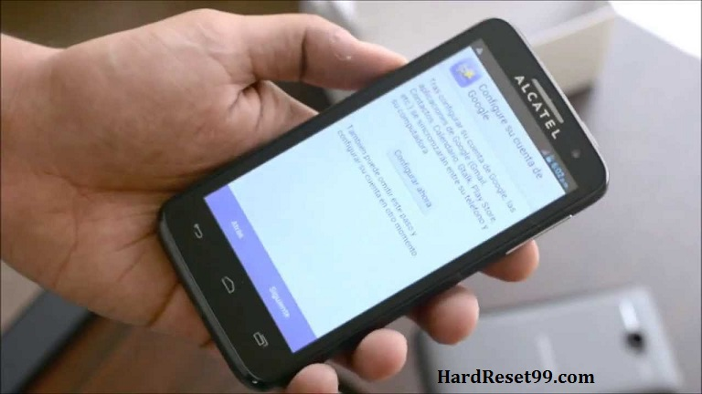 Alcatel One Touch X'Pop Hard reset, Factory Reset and Password Recovery