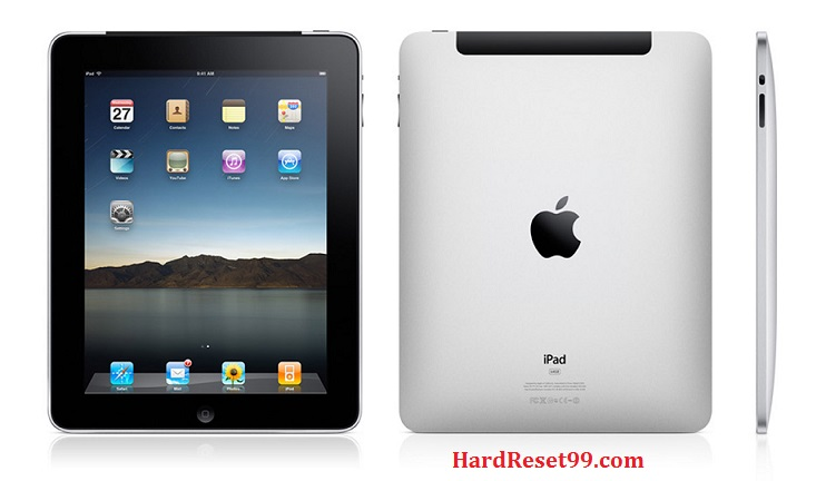 Apple iPad 2 Wi-Fi Hard Reset, Factory Reset & Password Recovery
