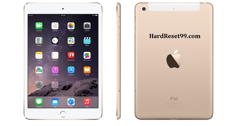 Apple iPad 3 Wi-Fi Hard Reset, Factory Reset & Password Recovery