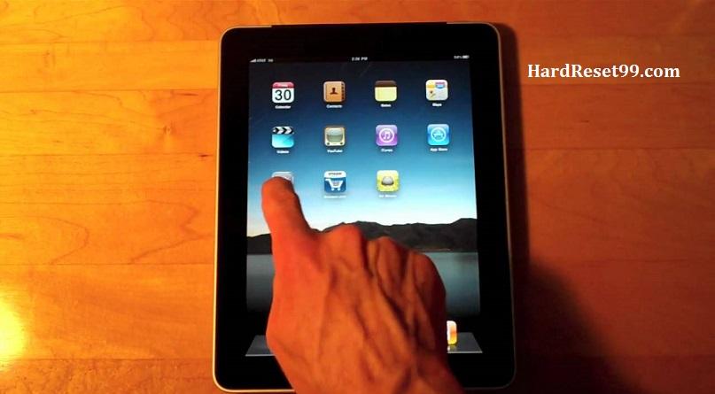 Apple iPad 3G Hard Reset, Factory Reset & Password Recovery