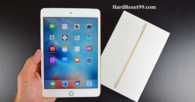 Apple iPad 4 Hard Reset, Factory Reset & Password Recovery