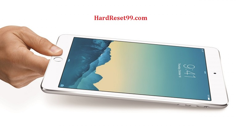 Apple iPad Air 2 Hard Reset, Factory Reset & Password Recovery