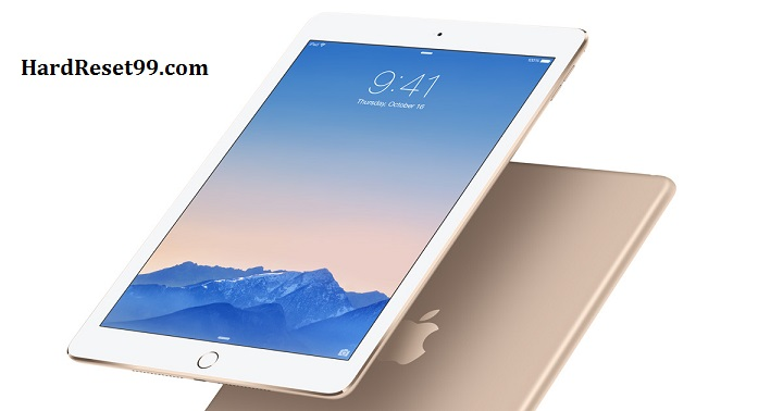 Apple iPad Air Hard Reset, Factory Reset & Password Recovery