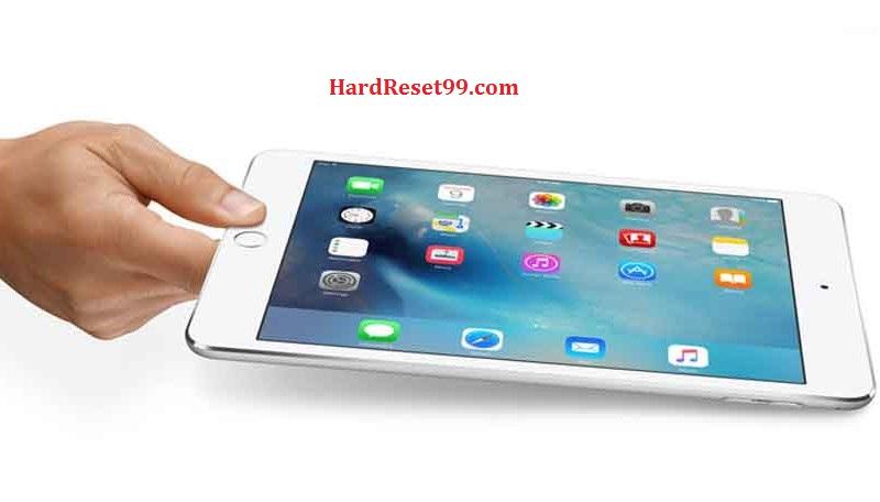 Apple iPad mini Wi-Fi Hard Reset, Factory Reset & Password Recovery