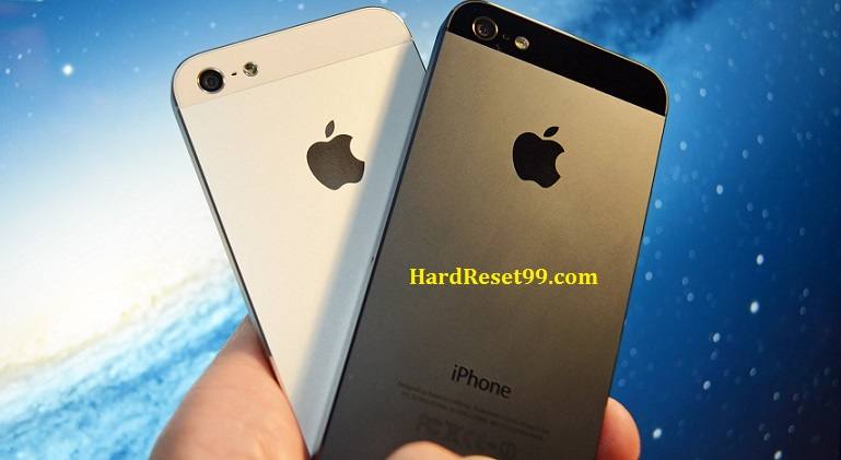 Apple iPhone 5 Hard Reset, Factory Reset & Password Recovery