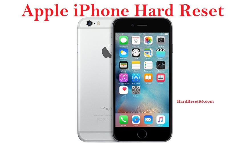 Apple iPhone Hard Reset, Factory Reset & Password Recovery