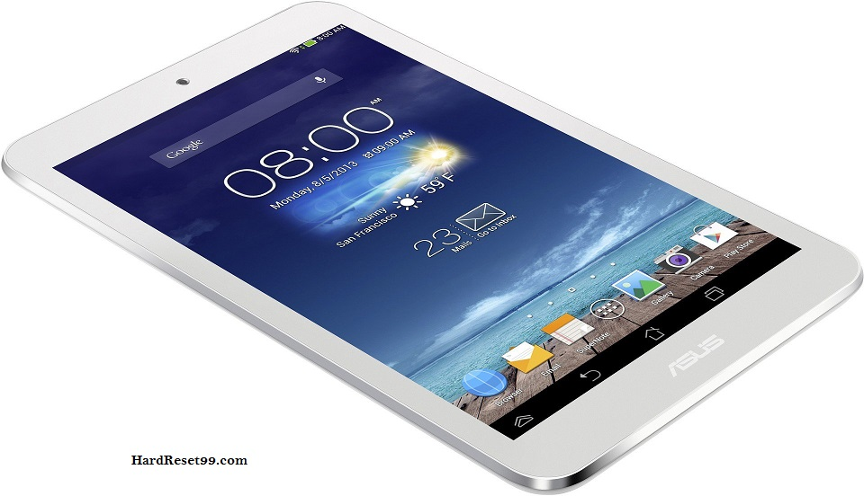 Asus Fonepad 7 FE170CG Hard reset, Factory Reset and Password Recovery