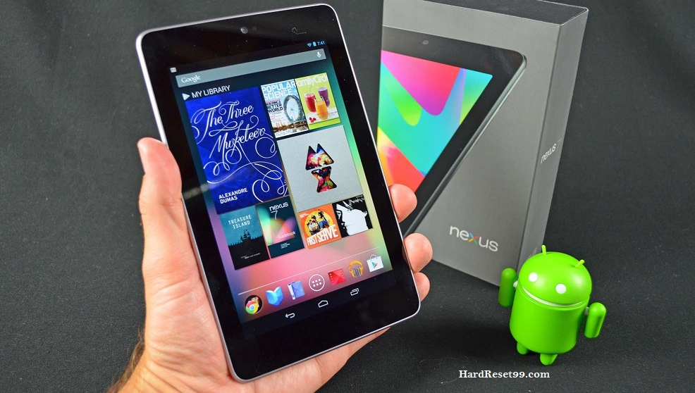Asus Google Nexus 7 32GB Hard reset, Factory Reset and Password Recovery