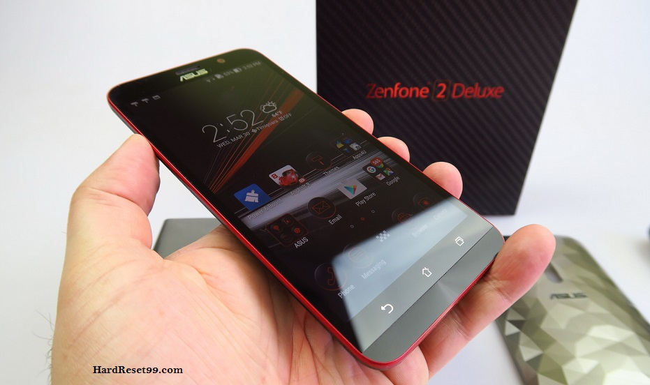Asus ZenFone 2 Deluxe Special Edition Hard reset, Factory Reset and Password Recovery
