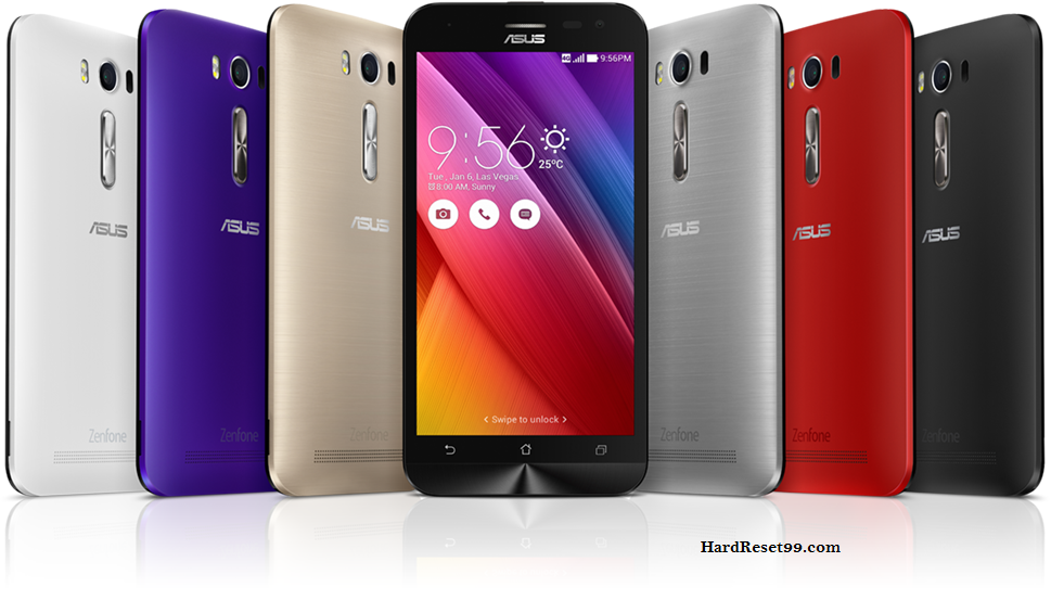Asus ZenFone 2 Laser 5.0 Hard reset, Factory Reset and Password Recovery