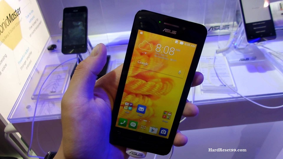Asus ZenFone 4 A450CG Hard reset, Factory Reset and Password Recovery