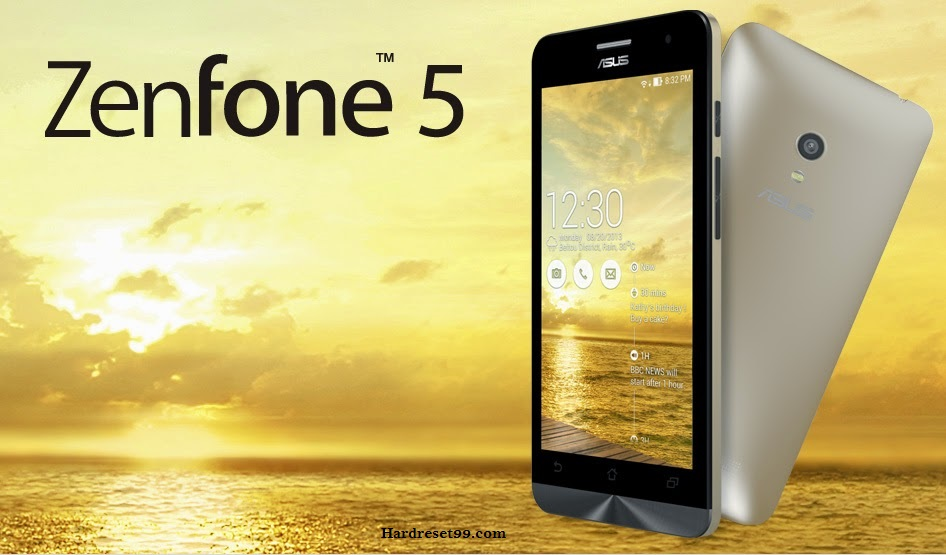 Asus ZenFone 5 A500CG Hard reset, Factory Reset and Password Recovery