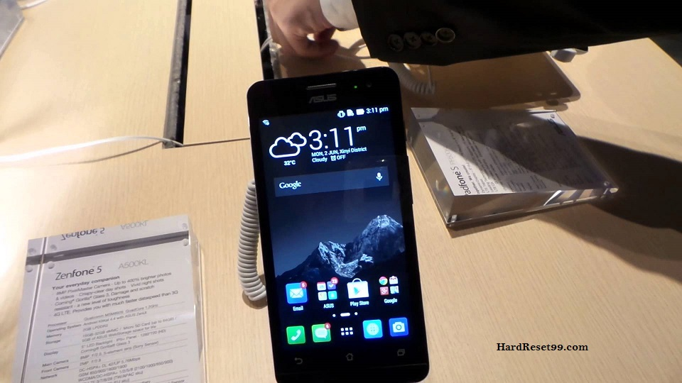 Asus ZenFone 5 Hard reset, Factory Reset and Password Recovery