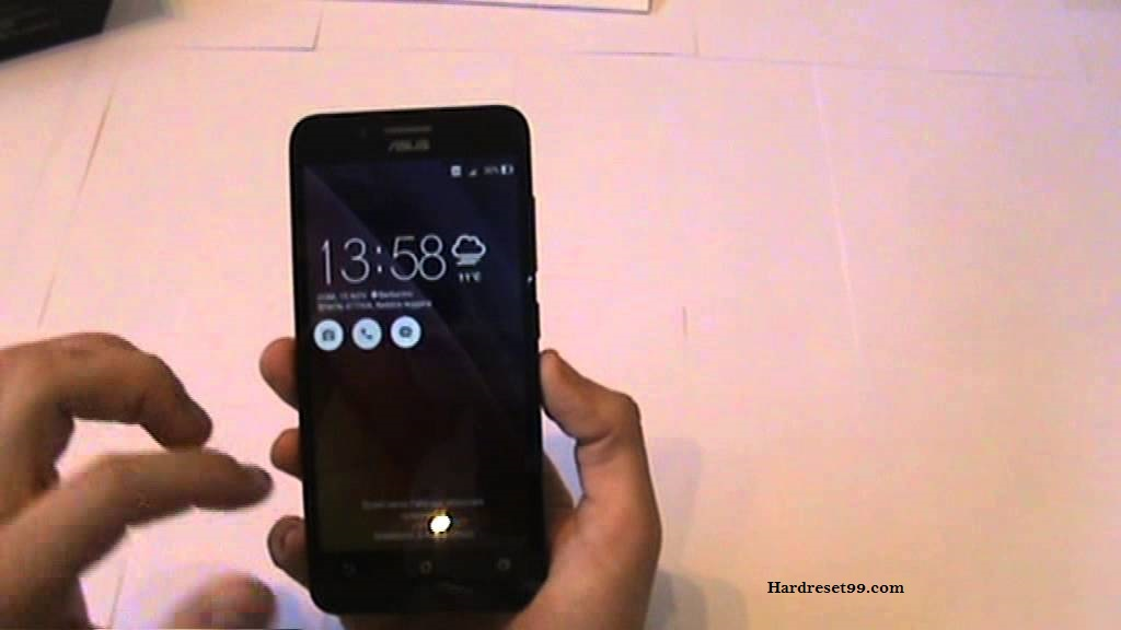Asus ZenFone Go ZC500TG Hard reset, Factory Reset and Password Recovery