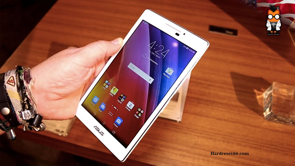 Asus ZenPad 7.0 Hard reset, Factory Reset and Password Recovery
