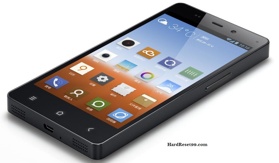 Gionee CTRL V1 Hard reset, Factory Reset and Password Recovery