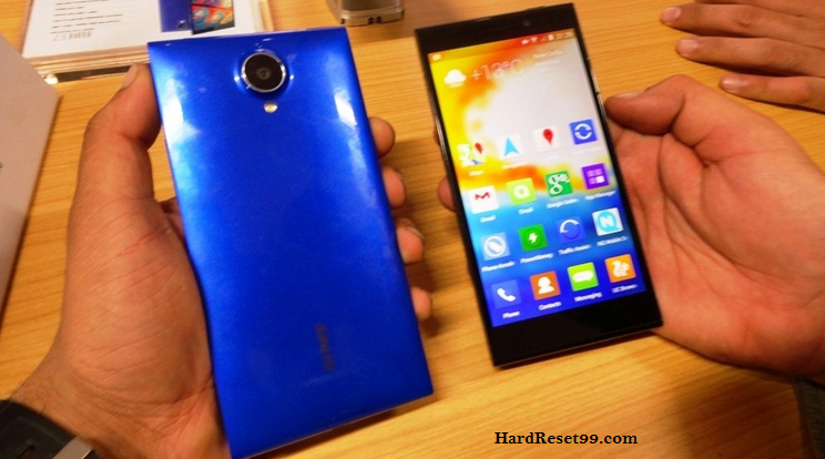Gionee CTRL V5 Hard reset, Factory Reset and Password Recovery