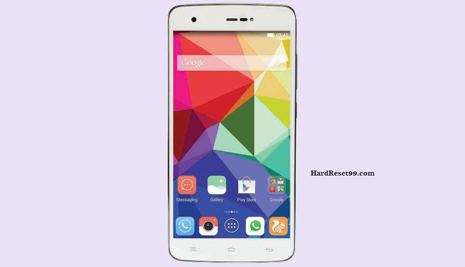 Gionee CTRL V6L Hard reset, Factory Reset and Password Recovery